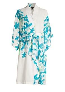Natori Hyacinth Satin Robe