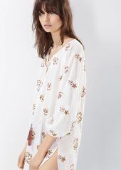 Natori Josie Bohemia Peasant Sleepshirt