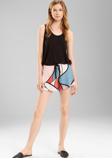 Natori Josie Deco Glass Track Shorts