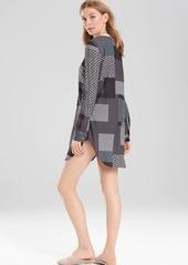 Natori Josie Madly Deeply Sleepshirt Oyster/Grey/Black