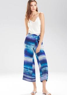 Josie Natori Blue Lagoon Pants