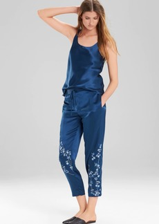 Josie Natori Cascading Floral Pants