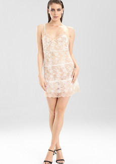 Josie Natori Chantilly Bordered Lace Chemise
