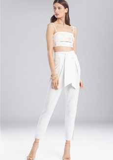 Josie Natori Cotton Shirting Bralette