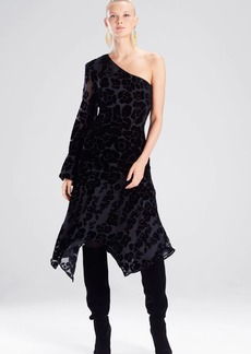 Josie Natori Fallen Floral Burnout Dress