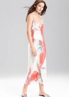 Josie Natori Hibiscus Gown