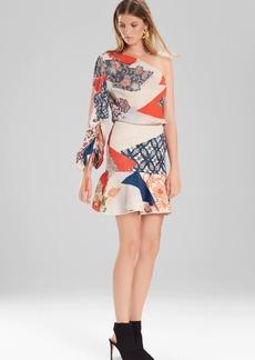 Josie Natori Kimono Patchwork Skirt