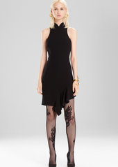 Josie Natori Knit Crepe Dress
