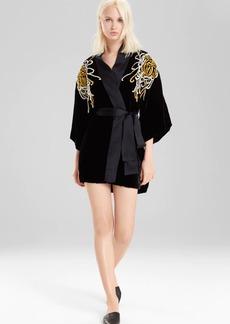 Josie Natori Luxe Velvet Wrap