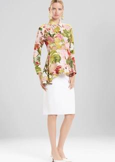 Josie Natori Paradise Floral Top