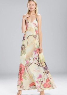 Josie Natori Printed Silky Soft Slip Dress