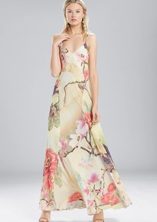 Josie Natori Printed Silky Soft Slip Dress