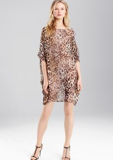 Josie Natori Shadow Leopard Top