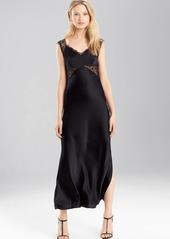 Josie Natori Stretch Silk Charmeuse Gown