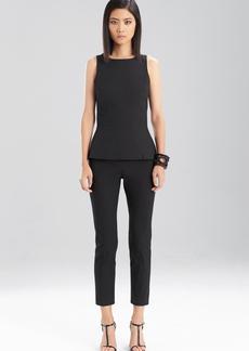 Josie Natori Structured Texture Pants