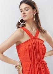 Josie Natori Summer Texture Eyelet Dress