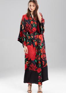 Josie Natori Tapestry Garden Robe