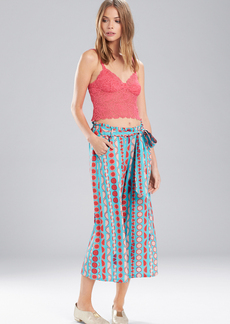 Josie Valley Mix Capri Pants