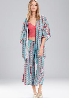Josie Valley Mix Happi Coat True Blue/Cotton Candy