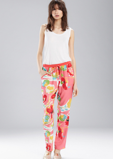 Josie Valley Mix Kangaroo Pants Pink/Coral