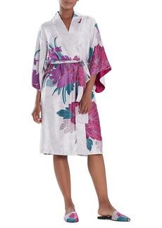 Natori Jubako Floral Robe
