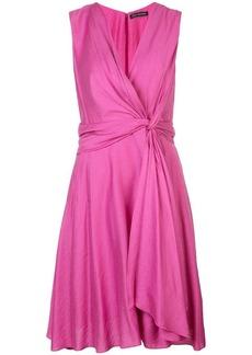 Natori knot tie dress