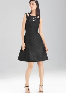 Natori Lacquer Basket Weave Dress