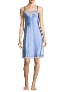 Natori Lolita Lace Silk Chemise