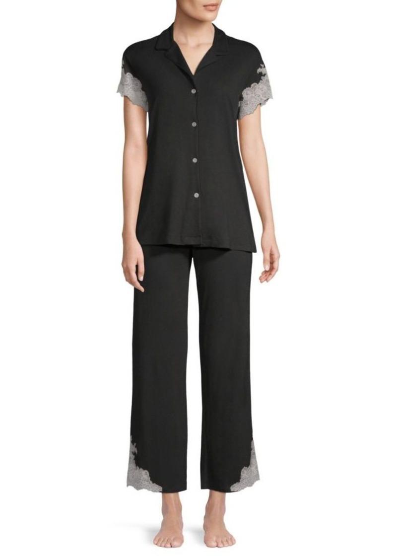 Natori 2-PieceLux Shangrila Pajama Set