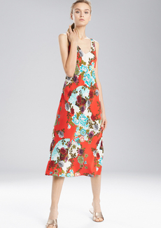 N Natori Blossoming Fans Gown