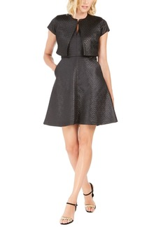 N Natori Maze Jacquard Dress