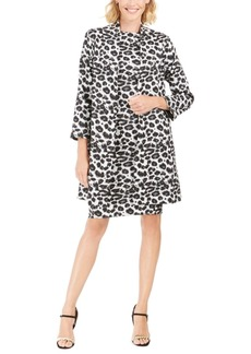 N Natori Snow Leopard Sheath Dress