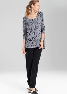N Natori Tonal Animal Top