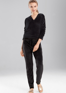 N Natori Velour Lounge Pants