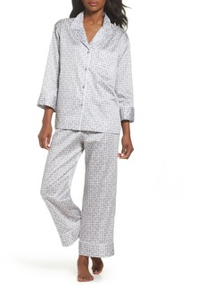 Natori Abstract Maze Sateen Pajamas