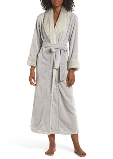 Natori Alpine 52 Faux Fur Trim Robe