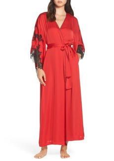 Natori Amour Long Satin Robe