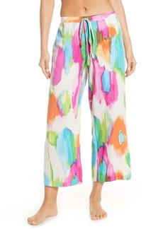 Natori Aurora Wide Pajama Pants