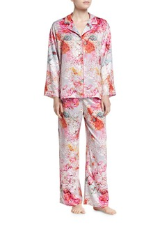 Natori Autumn Notch Pajama Set