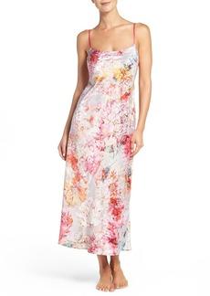Natori 'Autumn' Print Nightgown