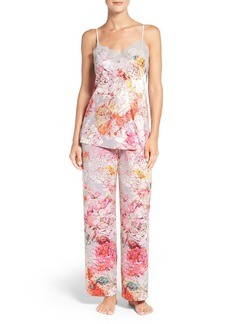 Natori 'Autumn' Print Pajamas