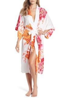 Natori Bali Floral Print Robe