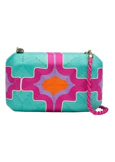 Natori Beatriz Clutch Hot Pink