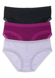 Natori Bliss 3-Pack Cotton Briefs