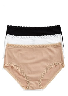 Natori Bliss 3-Pack Cotton Full Briefs