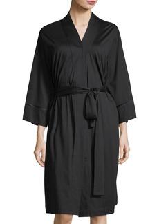 Natori Bliss Long Sleeve Short Robe