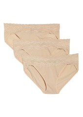 Natori Bliss Perfection 3-Pack Bikini Briefs