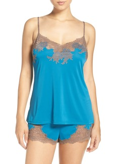 Natori 'Boudoir' Lace Trim Shorts Pajamas