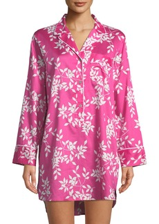 Natori Branche Floral-Print Sleepshirt
