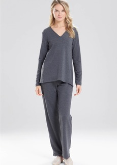 Natori Brushed Knit Top